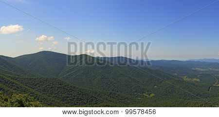 View From Millers Head Lookout, Shenandoah National Park