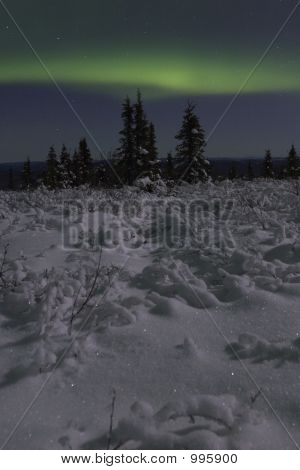 Calm Aurora Landscape