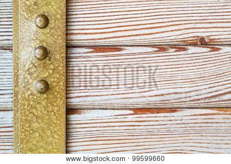 Different kinds wood planking texture. Macro view. poster