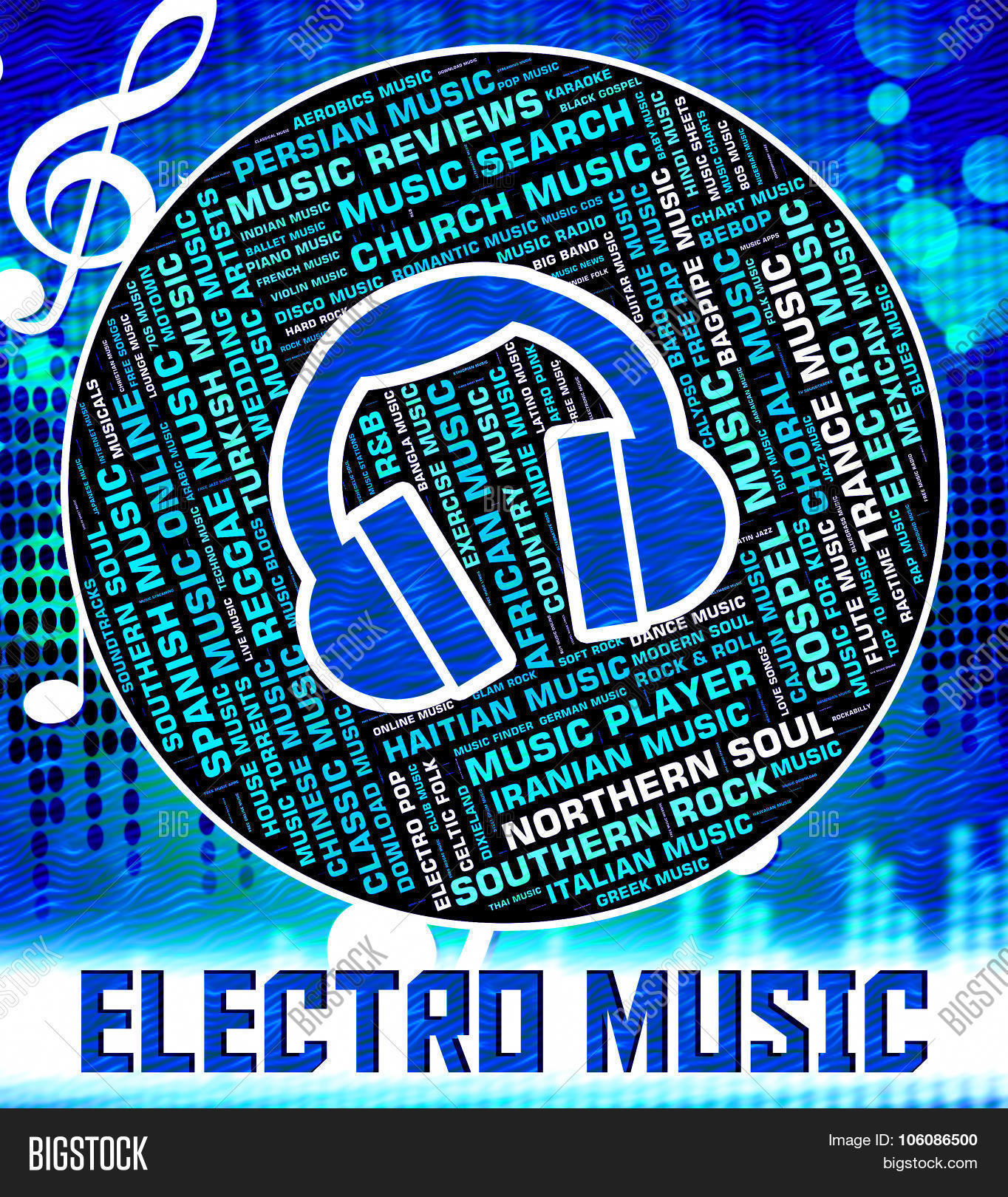 Electro Music Shows Image & Photo (Free Trial) | Bigstock