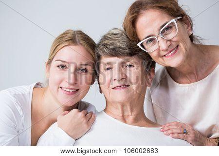 Multigenerational Family Spending Time Together