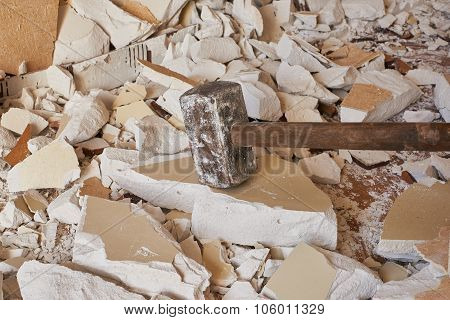 Hammer Demolition Material
