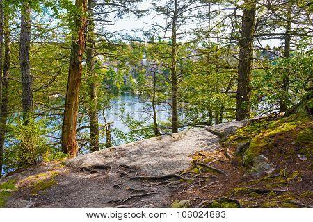 Lake Minnewaska Landscape