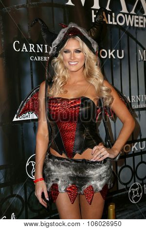 LOS ANGELES - OCT 24:  Barbara Jean Blank, Barbie Blank at the MAXIM Magazine's Official Halloween Party at the Private Estate on October 24, 2015 in Beverly Hills, CA