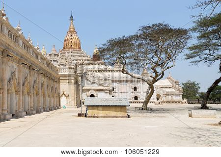 Ananda Temple on Bagan Plain Myanmar Burma