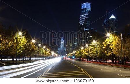 Philadelphia Nightscape