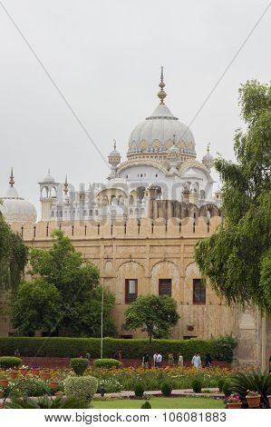Sikh Temple In Lahore