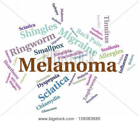 Melanoma Illness Indicates Carcinogenic Sickness And Infection