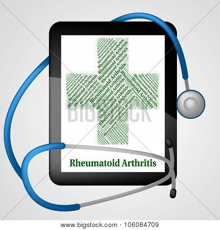 Rheumatoid Arthritis Shows Ill Health And Acute