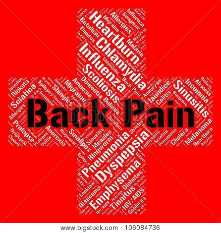Back Pain Shows Poor Health And Ailment