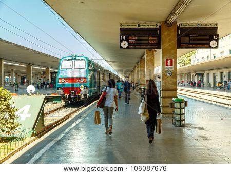 Florence. Train Station.