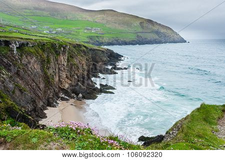 Slea Head On The Dingle Peninsula, County Kerry, Ireland