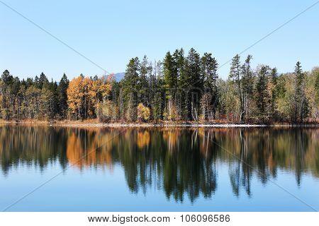 Lake Reflection Glacier National Park