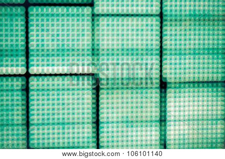 Abstract blur de-focussed led screen
