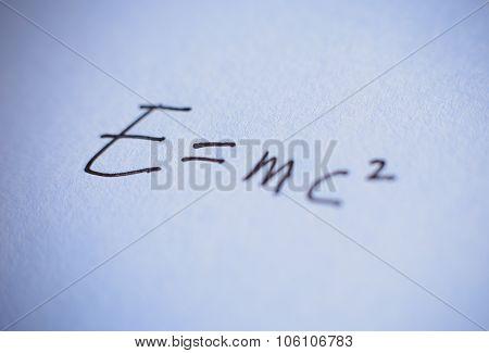The Formula E=mc2
