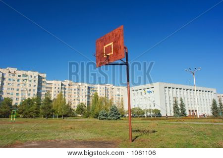 A Basketball Post