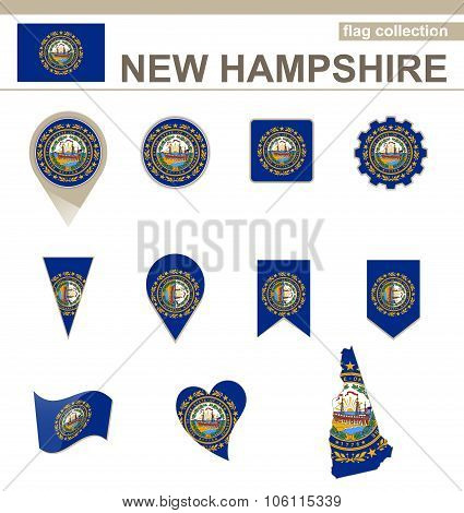 New Hampshire Flag Collection