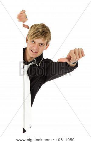 Young Adult , Thumb Sideways