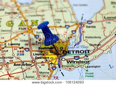 Detroit in usa