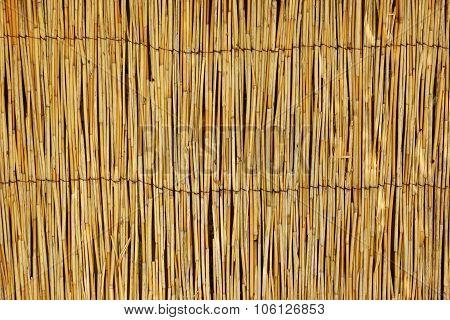 Bamboo Mat Horizontal Background