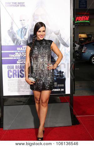 LOS ANGELES - OCT 26:  Carla Ortiz at the