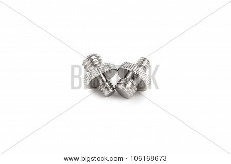 Double End Spigot isolated on white