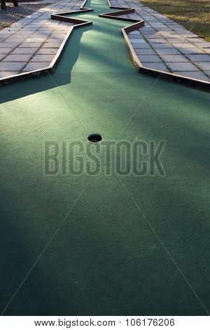 Miniature Golf Course Cup