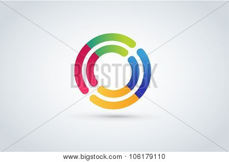 Technology circle logo