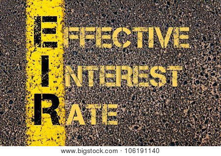 Business Acronym Eir As Effective Interest Rate