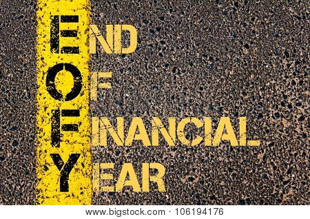 Business Acronym Eofy As End Of Financial Year