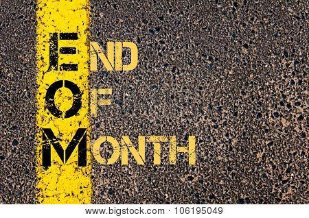 Business Acronym Eom As End Of Month