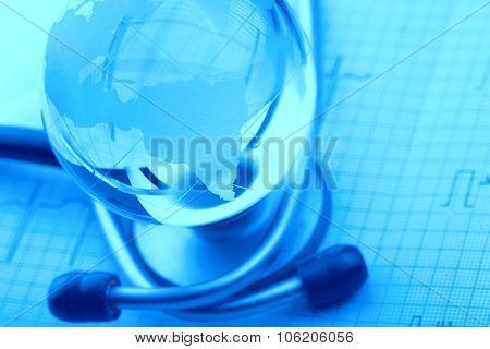 Concept A World Of Dangerous Diseases