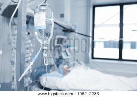 Treatment Of A Patient In Critical Condition In The Icu
