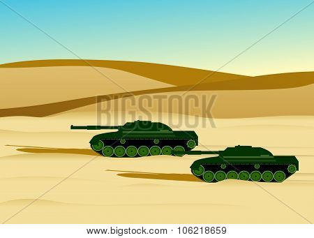 army military tanks.
