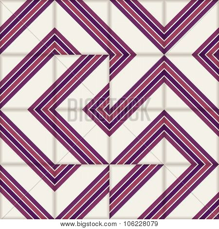 Reteo stripe seamless  pattern from  Moroccan tiles, ornaments of vinous colors. Can be used for wallpaper, pattern fills, web page background, surface textures. poster