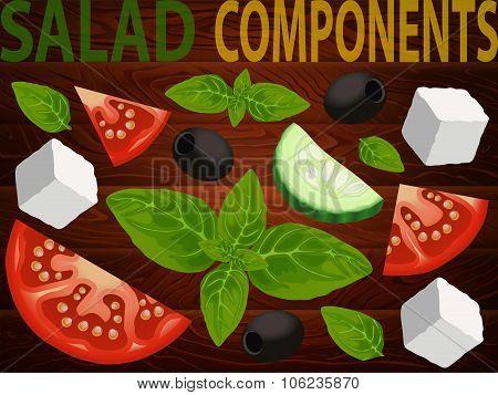 Salad Big Set 4