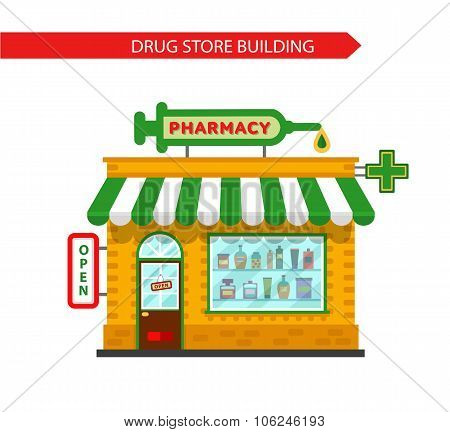 Drugstore building