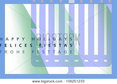 Hannuka - Christmas integration