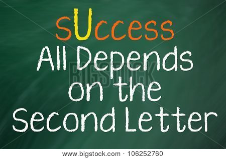 Success All Depends on You