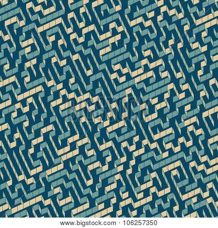 Maze. Vector Illustration Of Labyrinth.