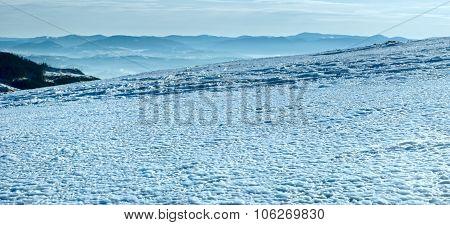 Ice Surface Texture