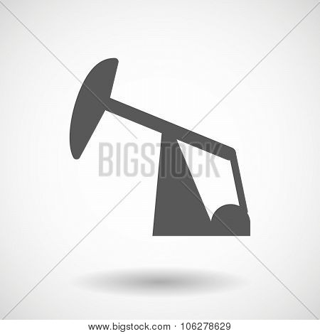 Illustration Of A Horsehead Pump