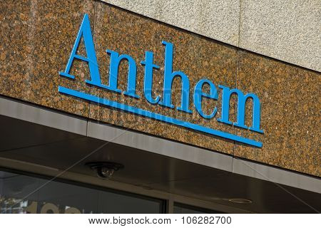 Indianapolis - Circa October 2015: Anthem World Headquarters II