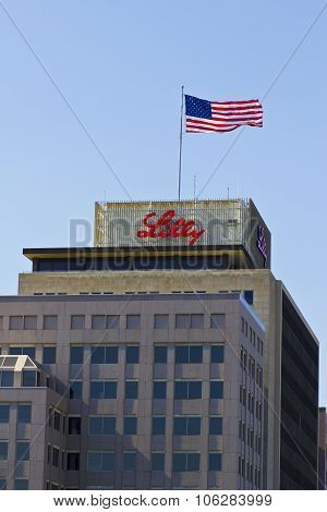 INDIANAPOLIS - CIRCA OCTOBER 2015: Eli Lilly and Company World Headquarters Indianapolis IN II