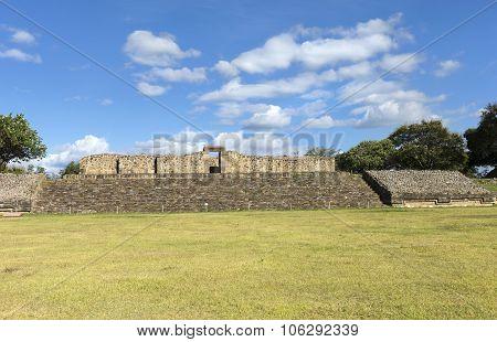 Monte Alban Archaeological Site, Oaxaca, Mexico