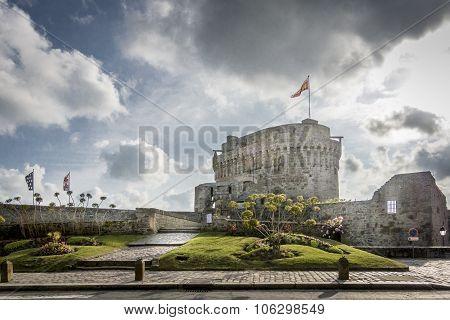 Chateau De Dinan, Brittany, France