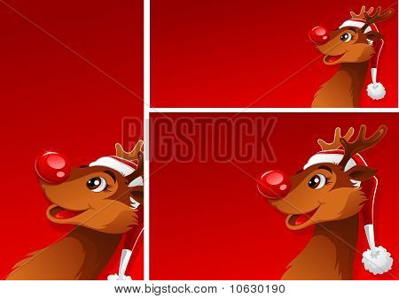 Banners With Reindeer