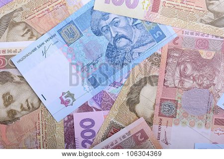Background Of The Ukrainian Money - Uah