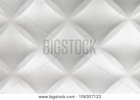 White Abstract 3D Modern Home Interior Polystyrene Tile Wall Background