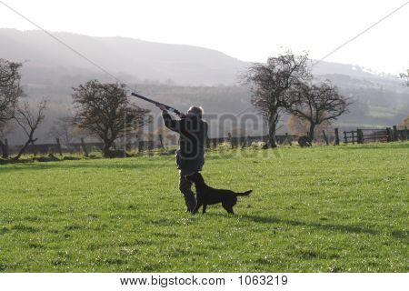 Shooting At Pheasants